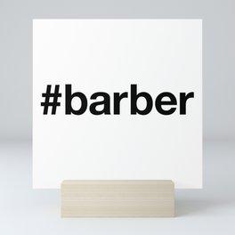 BARBER Mini Art Print