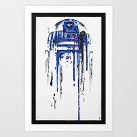 sale Art Prints featuring A blue hope 2 by SMAFO