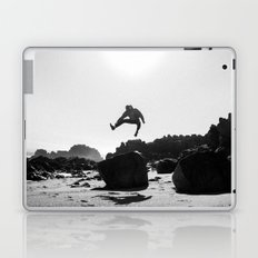 Beach Jump Laptop & iPad Skin