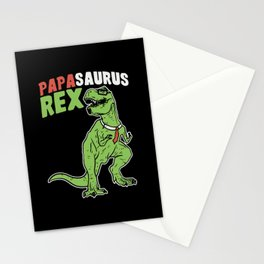 Papasaurus | Father's Day Dinosaur Stationery Cards
