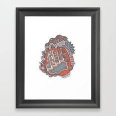 Tanked Framed Art Print