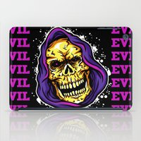 evil iPad Cases featuring EVIL by DesecrateART (Infected)