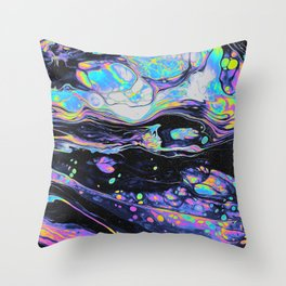 GLASS IN THE PARK Throw Pillow