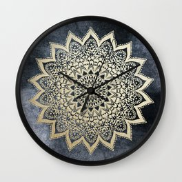 BOHO NIGHTS MANDALA Wall Clock