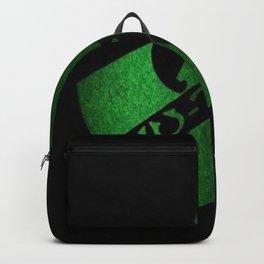 wu-tang game green Backpack