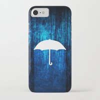 umbrella iPhone & iPod Cases featuring umbrella by Darthdaloon