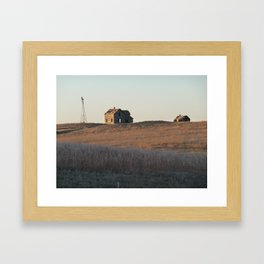 Abandonment Framed Art Print