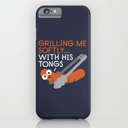 The Grates Leave Their Mark iPhone Case