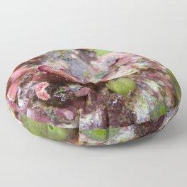 Chromodoris tinctoria nudibranch Floor Pillow