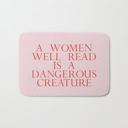 dangerous creature Bath Mat