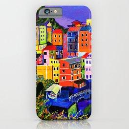 Manarola Cinque Terre iPhone Case