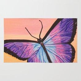 L'amour est un papillon Rug