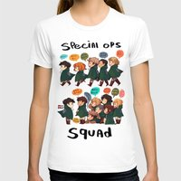snk T-shirts featuring SNK-Special ops. squad by Mimiblargh
