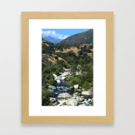 California Landscape Framed Art Print