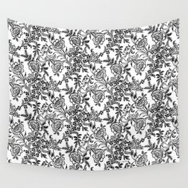 Full Moon Tea Reversed Wall Tapestry