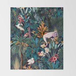 Beautiful Forest III Throw Blanket