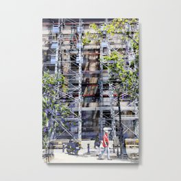 """""""Well, they are ladders"""", uttered the man, gently, Metal Print"""