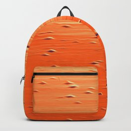 Abstract in red - orange Backpack