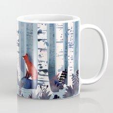 The Birches (in Blue) Mug