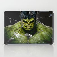 daenerys iPad Cases featuring Angry HULK  by bimorecreative