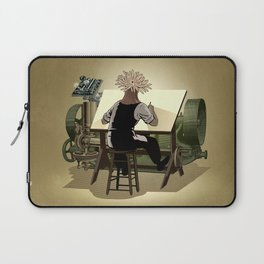 The aspirant to draftsman Laptop Sleeve