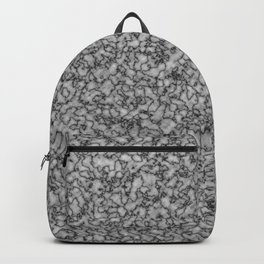 Grey marble. Backpack