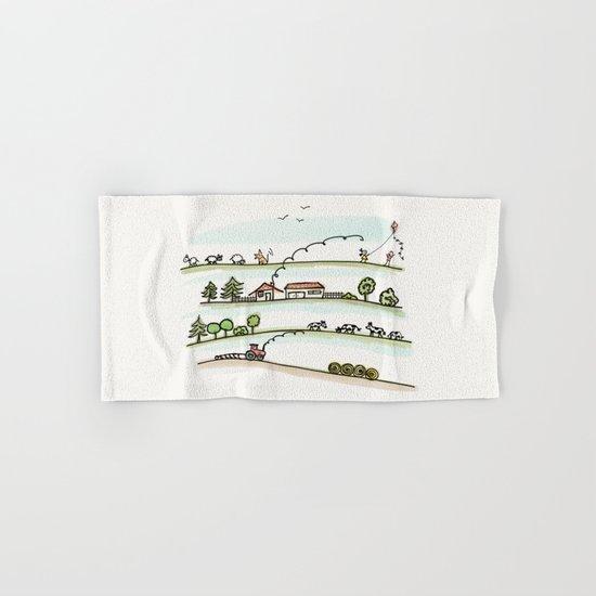 Country Life Hand & Bath Towel
