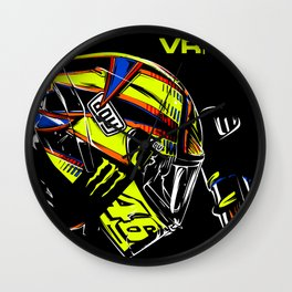 Valentino Rossi Pray Wall Clock