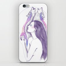 Cosmic Tears iPhone & iPod Skin
