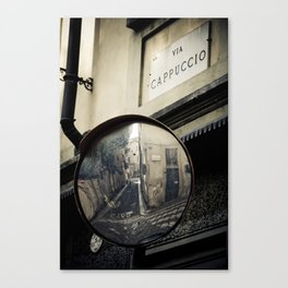 Via Cappuccio Canvas Print