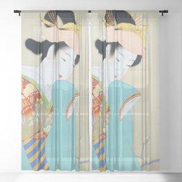 12,000pixel-500dpi - Uemura Shoen - Top Quality Art - Spring Fragrance Sheer Curtain