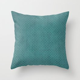 The Green Lagoon - Solid Colors Throw Pillow