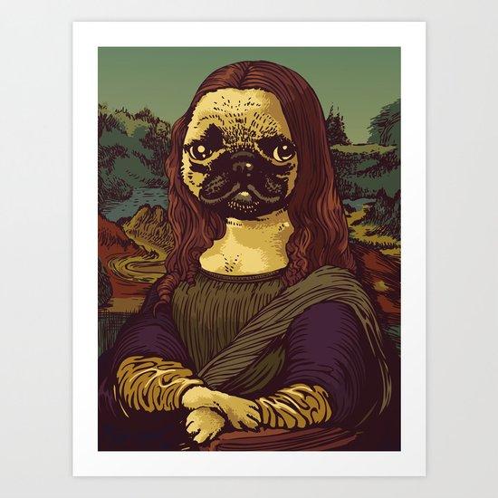 Pugalisa Art Print