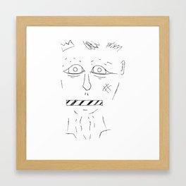 See No Evil; Say No Evil Framed Art Print