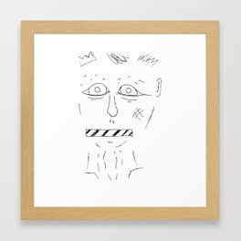 See No Evil; Say No Evil Framed Art Print