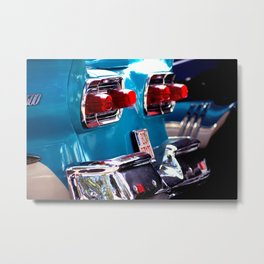 Taillights from a car Metal Print