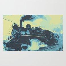 Morning train 1946 Rug