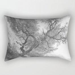 Sepia Tree Rectangular Pillow