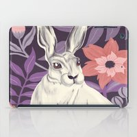 hare iPad Cases featuring Hare by Abbie Imagine