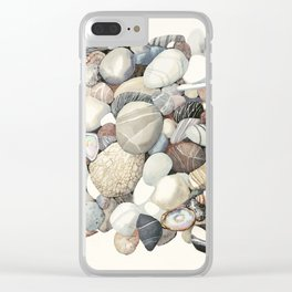 Sea shore of Crete Clear iPhone Case