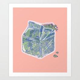 Plant Milk Art Print