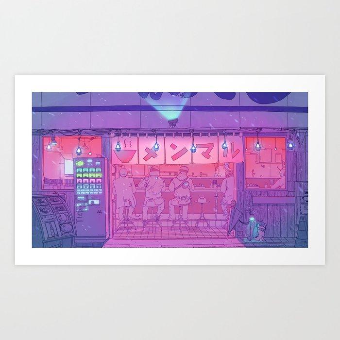 Ramen Shop Kunstdrucke