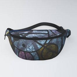 Pirates Flag with Dark Forest 5 Fanny Pack
