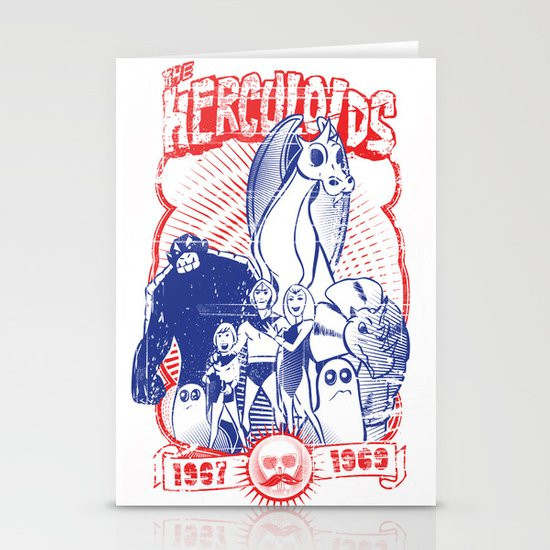 the herculoids Stationery Cards
