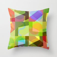 Colorful Truth. Shuffle 1 Throw Pillow