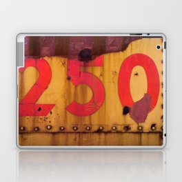 Red and Yellow 250 Laptop & iPad Skin
