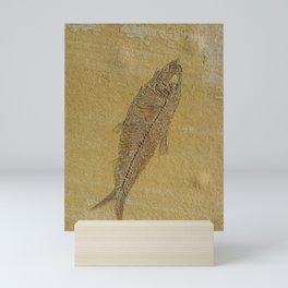 Fish Fossil Mini Art Print