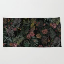 Tropical Iridescence Beach Towel