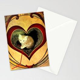 Sweet little kitten Stationery Cards