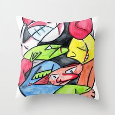 :::GARABATOSSS::: Throw Pillow